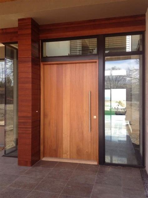 modern exterior front doors 8 best images about modern wood front doors on pinterest