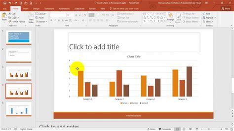powerpoint tutorial hindi insert charts in powerpoint hindi youtube