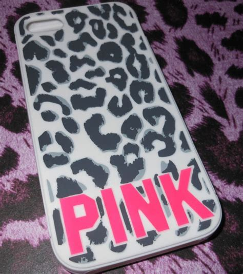 Soft Pink Leopard For Iphone 5c T0310 1 s secret pink cheetah leopard iphone 5 cover soft animal print phone cases