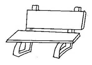 BENCH COLORING PAGES sketch template