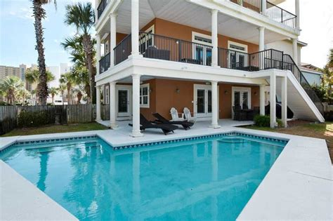 5 bedroom beach house rental destin upgraded beach home in gated community vrbo