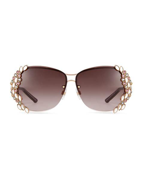 swarovski special edition 174 sunglasses in metallic