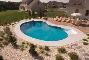 simple pool landscaping yard pinterest landscaping