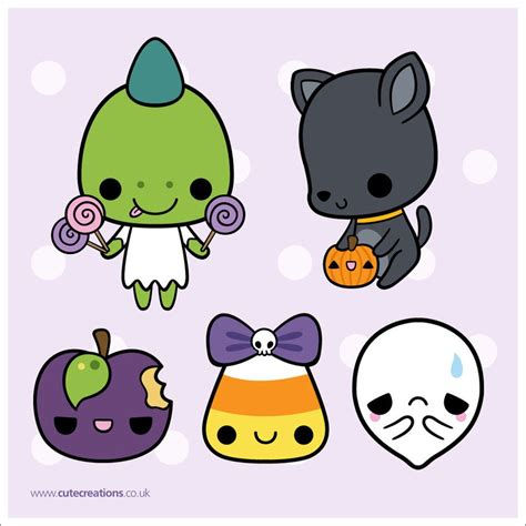 imágenes de halloween kawaii pack de monitos kawaii halloween by martiinasmiler on