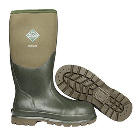 steel toe muck boots muck boots chore steel toe cap wellington boots