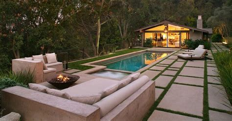 contemporary ranch house renovated modern ranch house in brentwood ca by rios