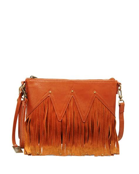 Faux Leather Wristlet Clutch originals faux leather fringe wristlet clutch bag