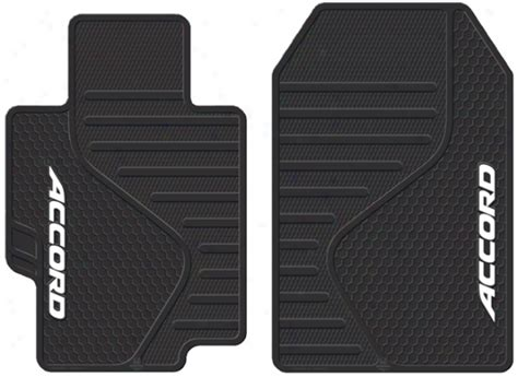 1997 Honda Accord Floor Mats by Honda Accord Molded Rubber Floor Mats Pair The Your