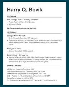 How 2 Make Resume by 15 237 2013 Homework 2