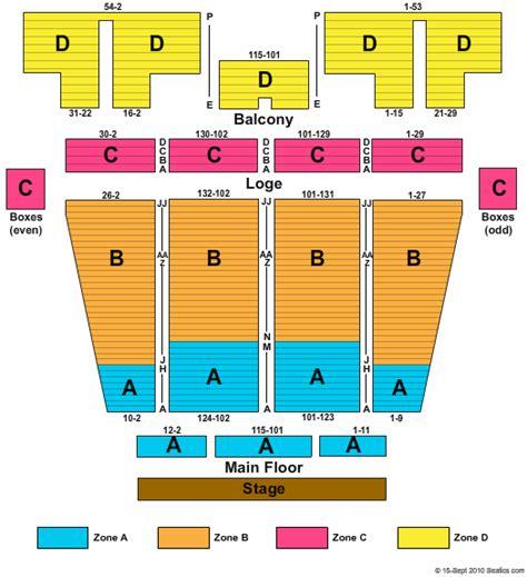 stranahan theatre seating stranahan theatre seating chart