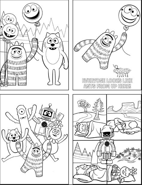 yo gabba gabba coloring pages yo gabba coloring pages with 2815891 printable coloring