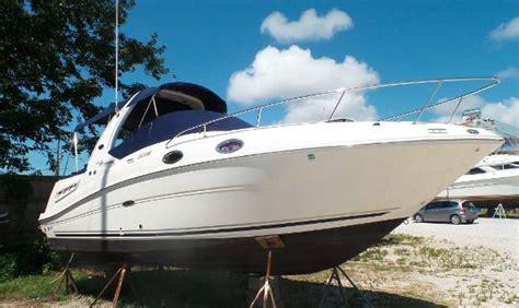 sea ray boat generator sea ray 260 sundancer generator boats for sale in north