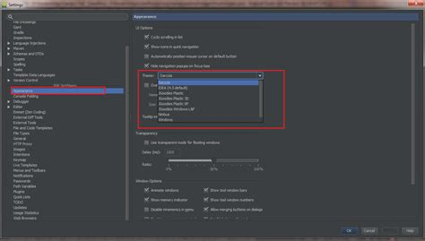 app themes android studio how do i change android studio editor s background color