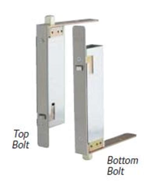 automatic flush bolts locks and door hardware at american