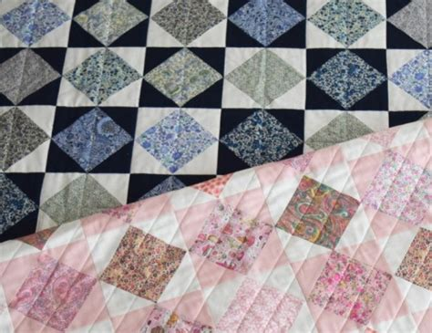 Benang Jahit Diagonal Chain 500 Yards Diy Liberty Quilt With Square In A Square Pattern