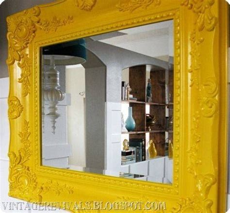 25 Best Ideas About Framed | 20 photo of bright coloured mirrors