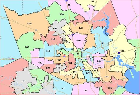 harris county texas precinct map harris county texas precinct map my