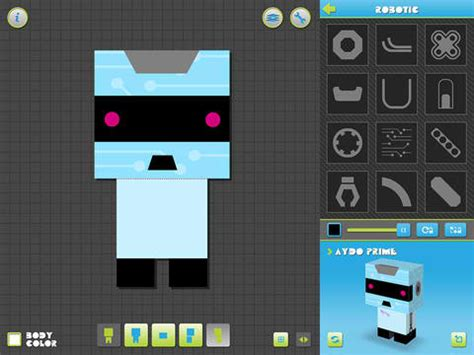 Paper Craft App - create your own paper critters with this new papercraft