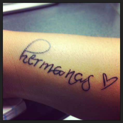 tattoo sister  spanish  spanish  pinterest