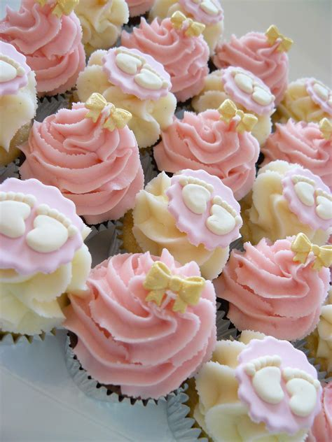 Baby Shower Pink Cupcakes by Baby Showers The Cup Cake Taste Brisbane Cupcakes
