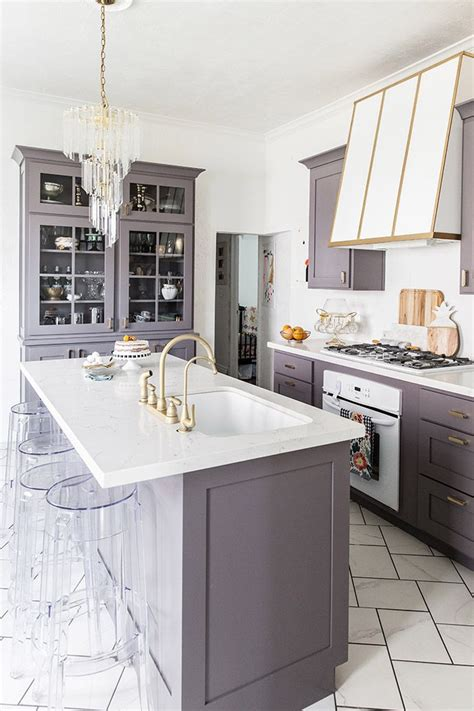 purple kitchen ideas best 25 purple kitchen cabinets ideas on