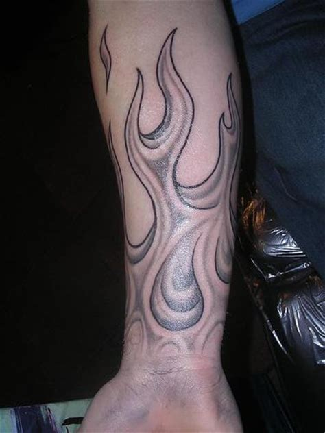 tattoo arm flames flame tattoos page 5