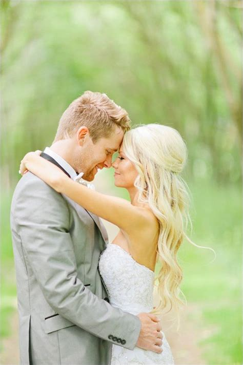 hair down picmia elegant and glamorous barn wedding beautiful wedding