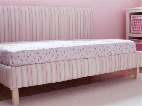 upholstered toddler bed diy upholstered toddler daybed hgtv