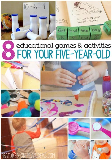 8 educational and activities for your 5 year