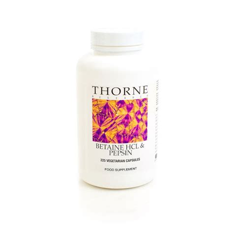 Betaine Hcl Detox Symptoms by Betaine Hcl Pepsin