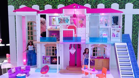 where can i buy a barbie dream house barbie now has an entire smart dream house that responds