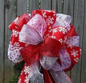 christmas bows lighted christmas trees and christmas tree