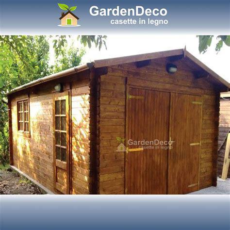 garage da giardino garage in legno 5x6m per auto da giardino gardendeco
