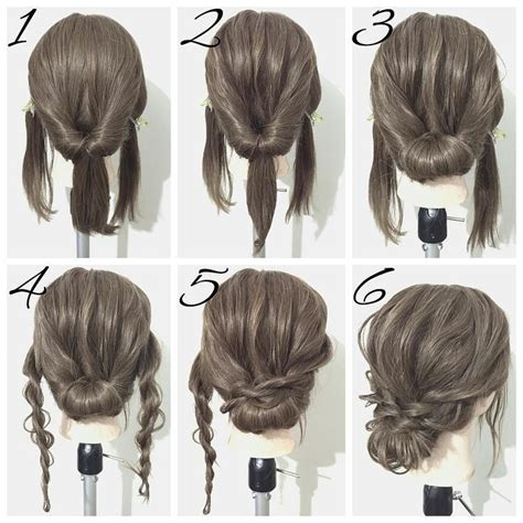diy ponytail haircut for medium length hair 11 pretty hairstyle ideas for women with thin hair