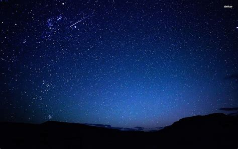 wallpaper blue night photo collection night sky stars hd wallpaper for laptop