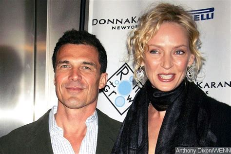 Uma Thurman Confirms Shes Dating Andre Balazs by Uma Thurman Spotted Cuddling And With Ex Andre