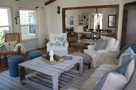 beach style decorating living room rustic sunroom beach style living room charlotte