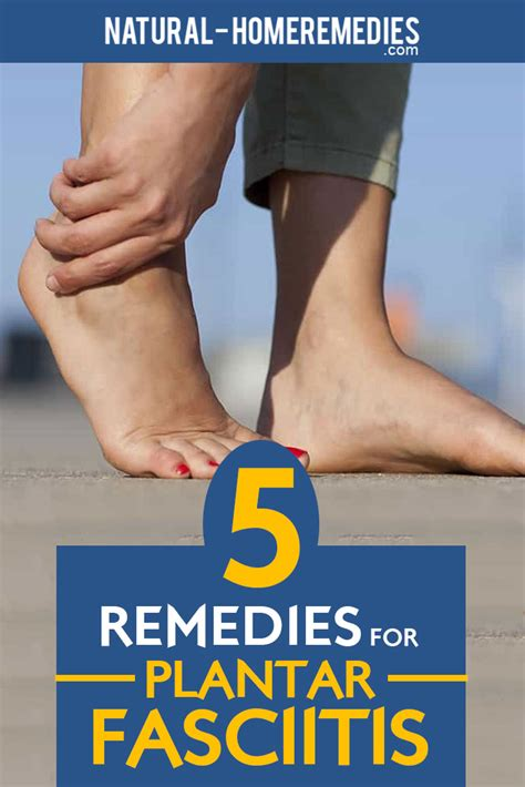 5 treatments for plantar fasciitis treatment and