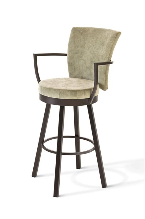Bar Stools Coral Springs by Amisco S Cardin Swivel Stool 41430