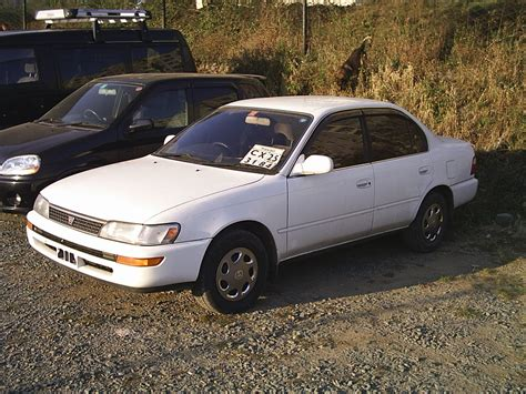 1992 Toyota Specs 1992 Toyota Corolla 1 8 Dx Related Infomation