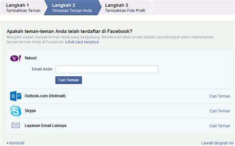 fb daftar daftar cara membuat facebook fb baru bahasa indonesia