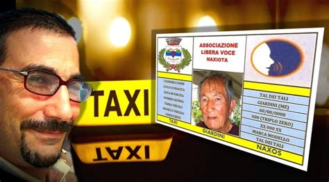 taxi giardini naxos giardini naxos un tesserino di riconoscimento per veri