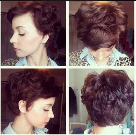pixie cuts with a little wave 15 pixie cuts for curly hair short hairstyles 2017