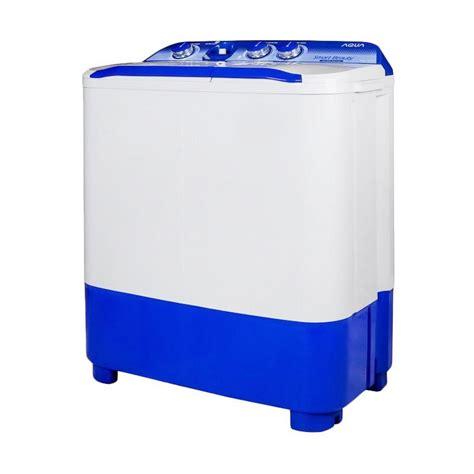 Aqua Mesin Cuci 2 Tabung jual aqua qw 781xt mesin cuci white 2 tabung