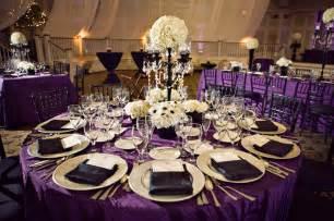 Purple table decoration purple wedding decoration table decoration