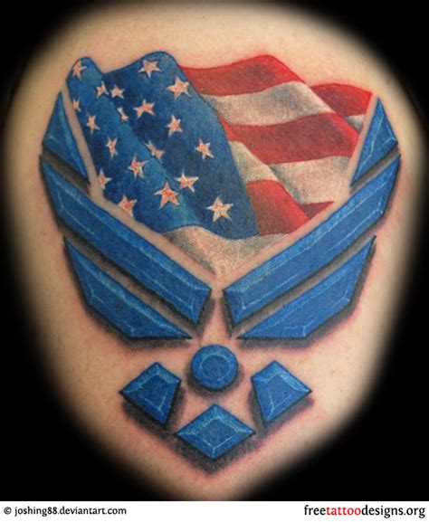 air force tattoo designs 66 tattoos