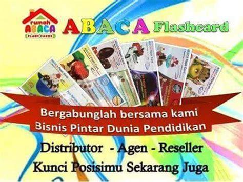 Abaca Flash Card Harta Karun peluang bisnis dunia pendidikan abaca flashcard