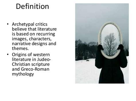 recurring theme definition literature archetypal literary criticism