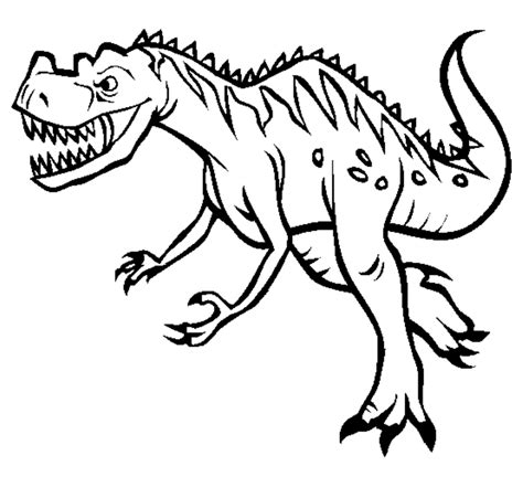 Dinosaur Coloring Pages Download | print ceratosaurus dinosaur coloring pages or download