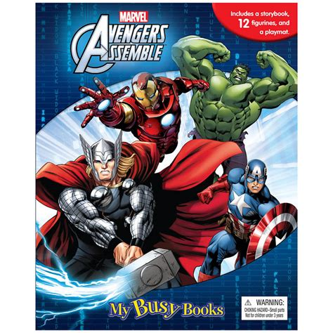 My Busy Book Marvel Avenger marvel my busy book books activity book